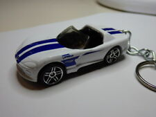 Hot Wheels Dodge Viper RT/10 8.0L V10 Keychain Keyring Keyfob