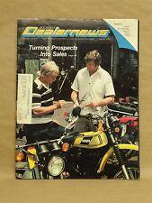 Vintage Motorcycle Dealer News Magazine August 1978 Yamaha Suzuki Honda