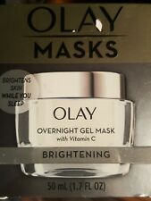 Olay Masks Overnight Gel Mask w/ Vitamin C  BRIGHTENING 1.7 fl oz FREE SHIPPING