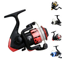 High Speed G-Ratio 5.1:1 Bait Folding Rocker Spin Fishing Reels With Line US