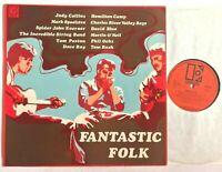 FANTASTIC FOLK - 1968 Elektra Comp Vinyl LP (Phil Ochs, Judy Collins, Tom Rush)