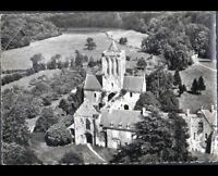 AVRANCHES / GRANVILLE (50) ABBAYE de LUCERNE , vue aérienne en 1950