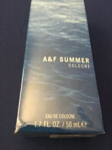 Abercrombie & Fitch Men's Summer Cologne 1.7 oz 50 mL - New in Sealed Box
