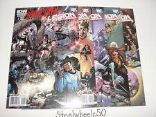 Star Trek Legion Of Super Heroes 5 Comic Lot DC 2011 1 2 3 5 6 LOSH Captain Kirk