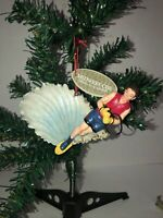 Slalom Waterskier Christmas Tree Ornament By Midwest-CBK-RARE-Limited Supply-NEW