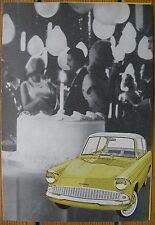 1960S FORD ANGLIA 105E BROCHURE MANUAL RS