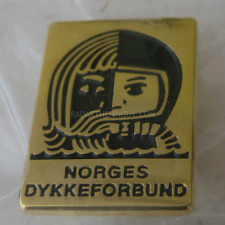 2017 Norway Diving Federation Pin