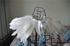 white feather cape top feather jacket feather shawl feather cape 2 PLY ones