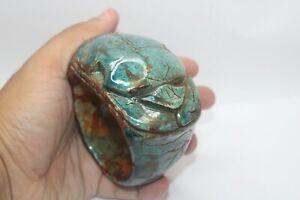 RARE ANCIENT PHARAONIC EGYPTIAN ANTIQUE SCARAB Bracelet