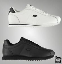 Mens Branded Lonsdale Everyday Casual Leather Beckton Trainers Footwear 7-11