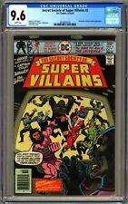 DC SECRET SOCIETY OF SUPER VILLAINS #3 - CGC 9.6  - WP - NM+ ERNIE CHAN COVER