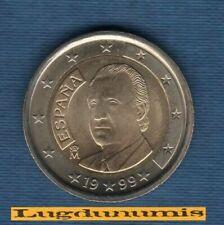 Pièces euro d'Espagne pour 2 Euro année 1999