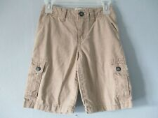 Children's Place Boy's Size 3/3T 100% Cotton Cargo Shorts w/ Adjustable Waist