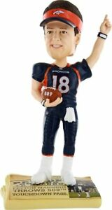 NFL Peyton Manning Denver Broncos BobbleHead Forever Collectibles