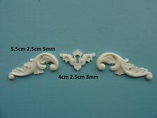 Decorative PIASTRINA & PERGAMENE IN RESINA ARREDAMENTO stampaggio APPLIQUE Onlay 035 A