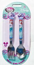 Disney Store Little Mermaid Ariel Kid's Flatware Fork & Spoon Set