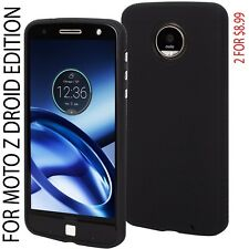 New Authentic Case-Mate Tough Case Cover For Motorola Moto Z Droid Black
