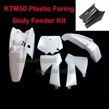 Fairing Plastic Fender Kits For 2003-2008 KTM 50 SX Mini Adventure Senior Junior