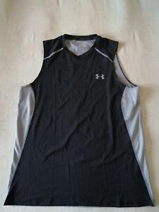 Under Armour T-shirt Gr. XL, Schwarz/Grau, Polyester,