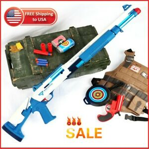 XM1014 Action Weapon Shell Ejection Soft Bullet TOY GUN for Kids + FREE BULLETS✅