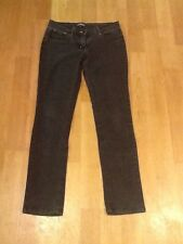 Denim & Co grigio slim/skinny jeans taglia 8