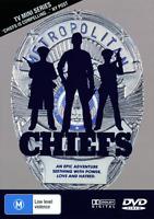 CHIEFS DVD Charlton Heston COMPLETE TV MINI SERIES - Over 3 Hours !
