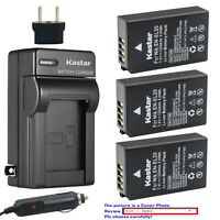 Kastar Battery Travel Charger for Nikon EN-EL20 MH-27 and Nikon 1 J1 Camera