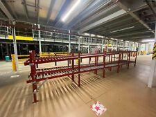 More details for incline decline conveyor convayor gravity roller rolling, table, belt rollers