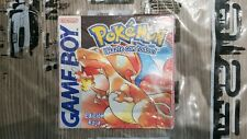 Nintendo Game Boy Pokémon Roja Brand New Selaed Rossa Esp Spa