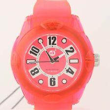 NEW Tendence XL Rainbow Watch Rose Hi-Tech Polycarbonate Quartz 02013046 50m