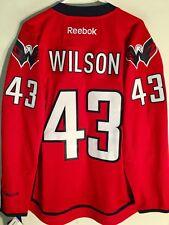 Reebok Premier NHL Jersey Washington Capitals Tom Wilson Red sz L