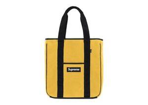 Supreme Yellow Polartec Tote Bag FW19 New DS