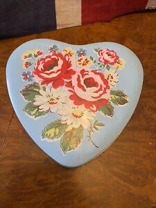 Cath Kidston heart shaped  tin