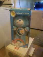 """2002 Care Bears Bedtime Bear 20th Anniversary 12"""" Plush Collectors Edition"""