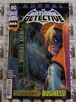 Detective Comics (2016) DC - Annual #2, Peter J Tomasi/Travis Moore, NM