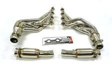 OBX Stainless Steel Exhaust Header For 04-07 Cadillac CTS-V LS6 LS-2 5.7 6.0L