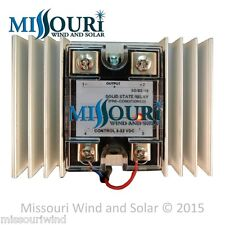 100 Amp Solid State Relay with Heat Sink for Solar Charge Controllers