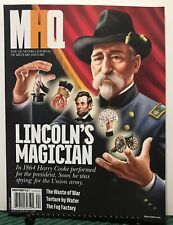 MHQ Military History Lincoln's Magician Torture Spring 2019 FREE SHIPPING JB