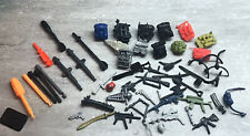 """GI Joe ARAH Vintage  Large Lot Of Weapons And Accessories For 3.75"""" Figures"""