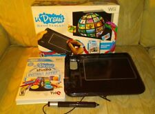 Wii U Draw Studio Instant Artist Game & Game Tablet THQ Rated E Nintendo 2011