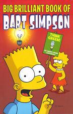 BIG BRILLIANT BOOK OF BART SIMPSON - TITAN 2008 1st edn - GRAPHIC NOVEL - EX Con