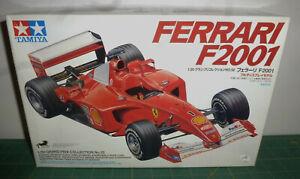 TAMIYA 1:20 Ferrari F2001 F1 Grand Prix No.52 Plastic Model Car Kit - NIB