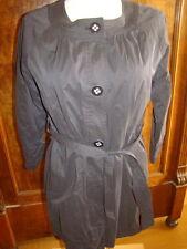 Madeleine Trench Coat Gr 36 Schwarz