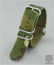 Camouflage Pattern ZULU Nato Watch strap 20mm