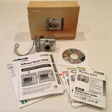 Canon PowerShot A550 7.1MP 4x Optical Zoom Lens P&S Camera Tested IOB
