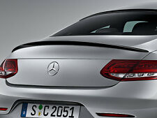 Mercedes C205 C Class Coupe Boot Trunk Lid Spoiler GLOSS BLACK READY TO FIT
