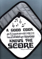 'A Good Cook Knows the Score' Pot Holder