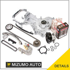 Fit 02-06 Nissan Altima Sentra 2.5L Timing Chain Kit Water Oil Pump QR25DE