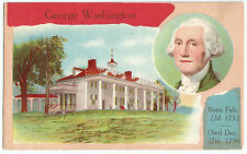 George Washington Vintage 1909 Postcard