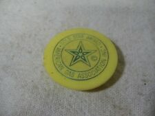 Rare Vintage Gold Star Award AMERICAN GAS ASSOCIATION INC. Bottle Cap Lid ~